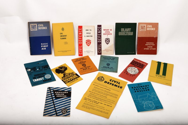 Canadian Civil Defence Pamplets