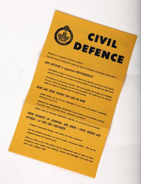 Civil Defence Info