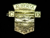 Alberta Civil Defence Hat Badge