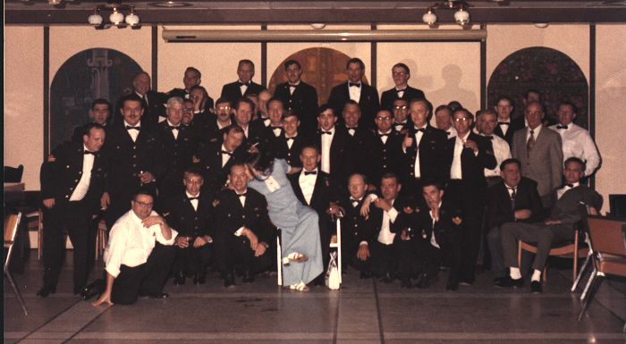 Junior Ranks Mess Dinner - 1972