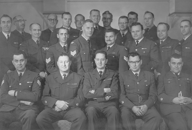 Members of the Sgts Mess - October 1968
