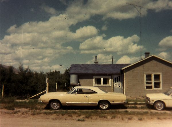 The singles house in Sibald, Alberta - June 1970