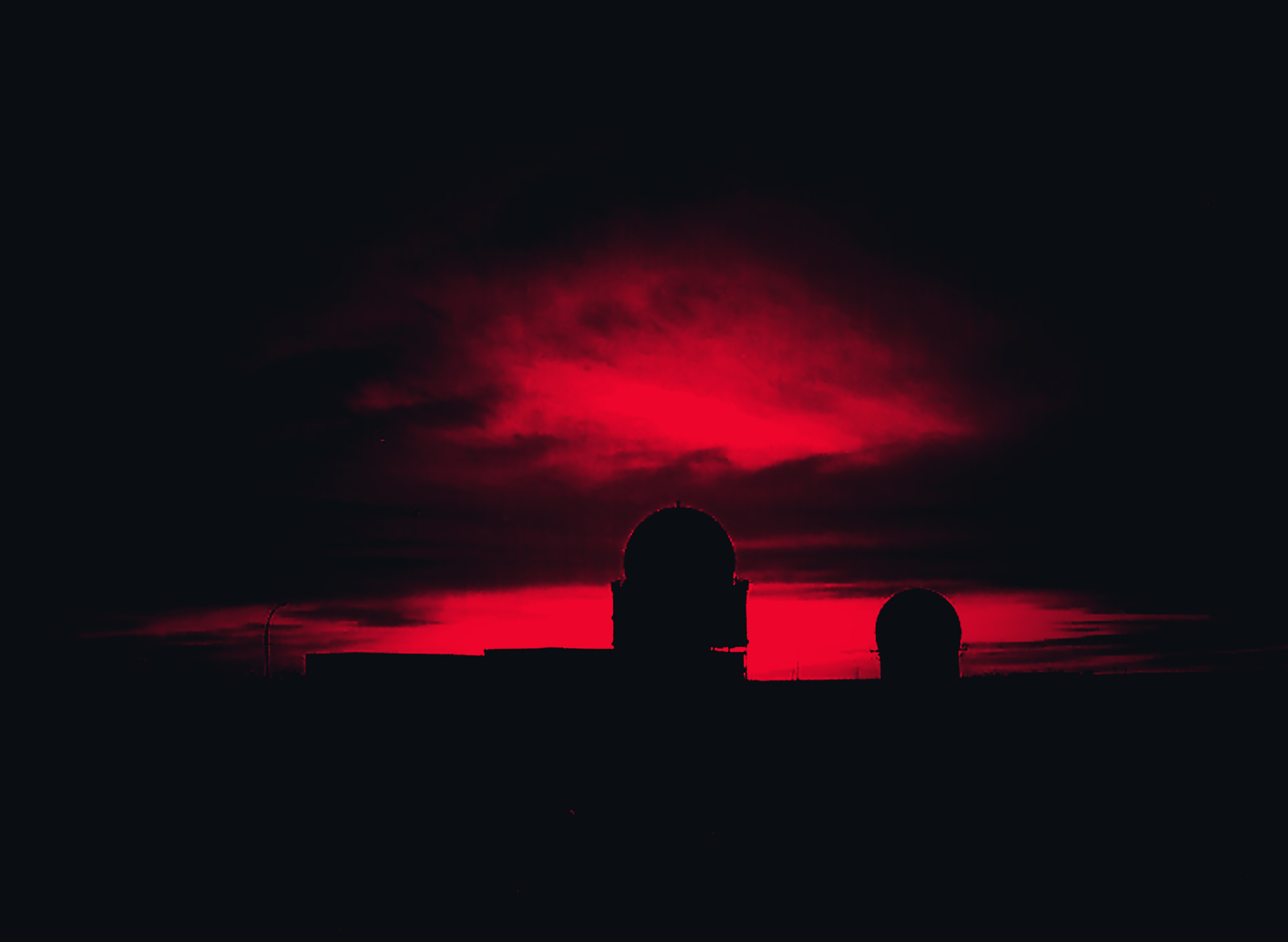 Sunset at CFS Yorkton - 13 January 19b86