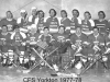 CFS Yorkton Oldtimers Hockey Team - March 1978