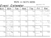 "CFS Yorkton ""The Echo"". WO's & Sgts Mess Events Calendar - 4 November 1980"
