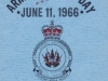 Front cover of the Armed Forces Day brochure - 11 June 1966