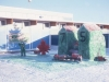 Winter Carnival ice sculpture - February 1980b