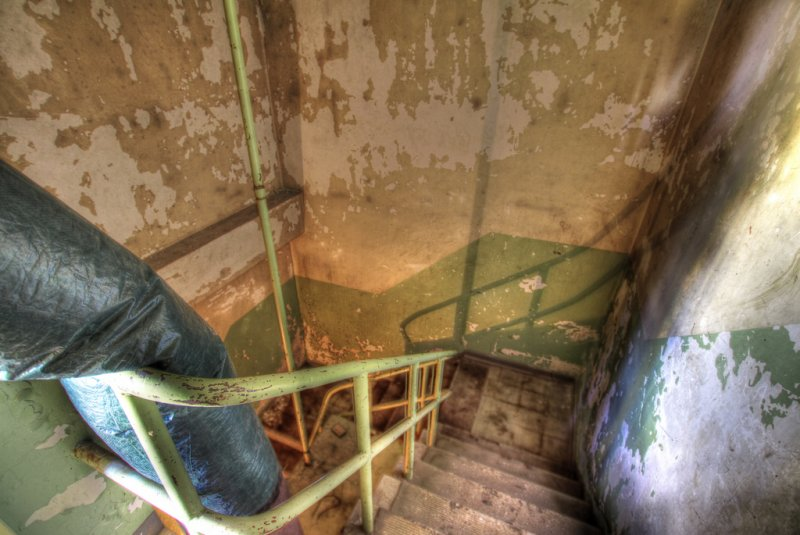 Bunker Stair Well