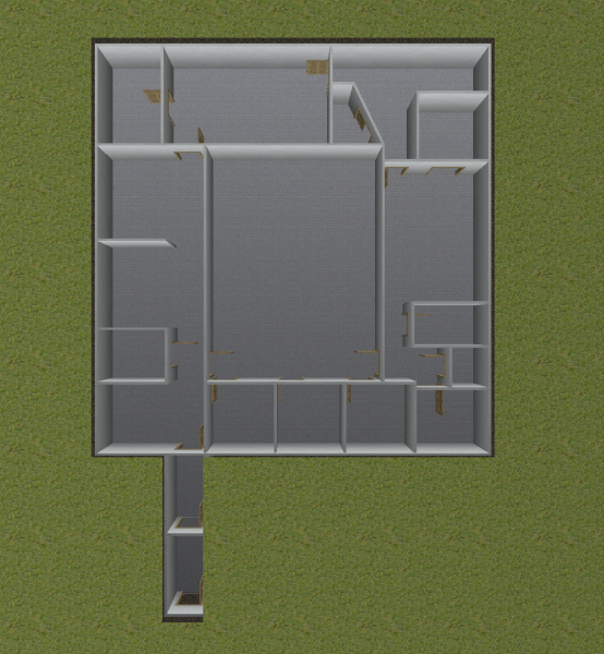 Bunker Floor Plan 3