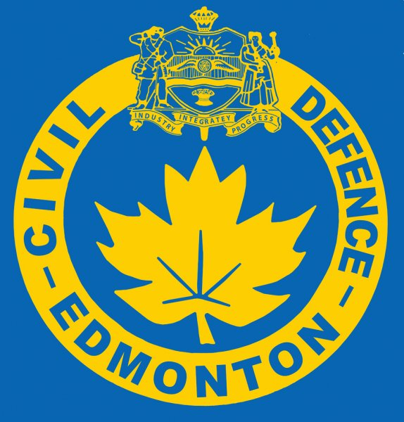 Edmonton Civil Defence Logo