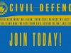 Edmonton Civil Defence Poster