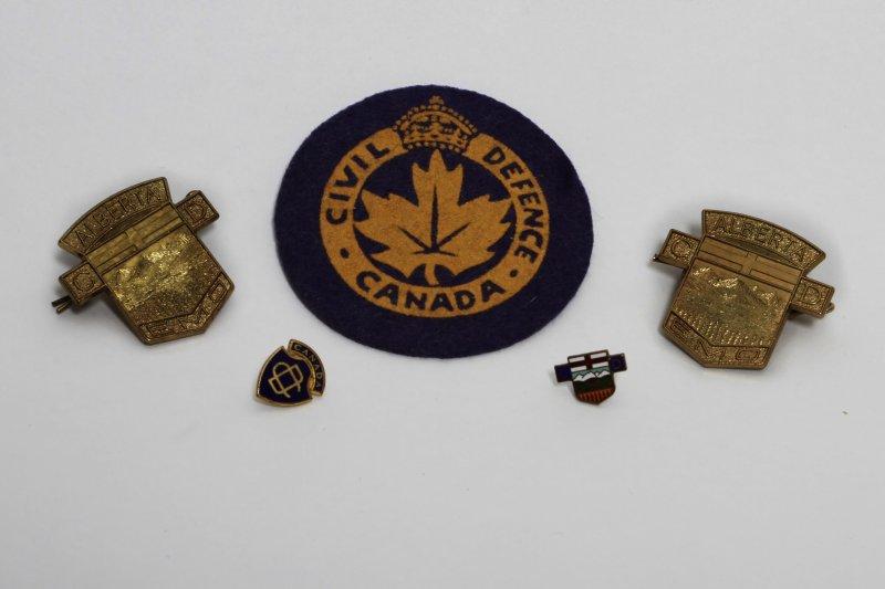 Civil Defence Badges