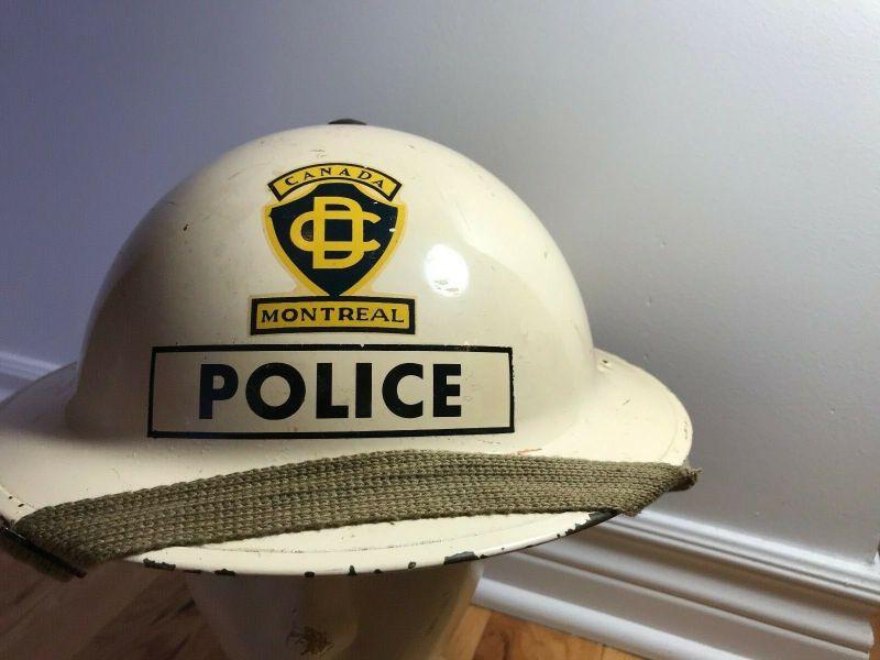 Montreal Civil Defence Helmet