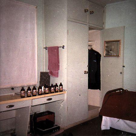 Ervin Kobialko's room in Barracks - August 1969
