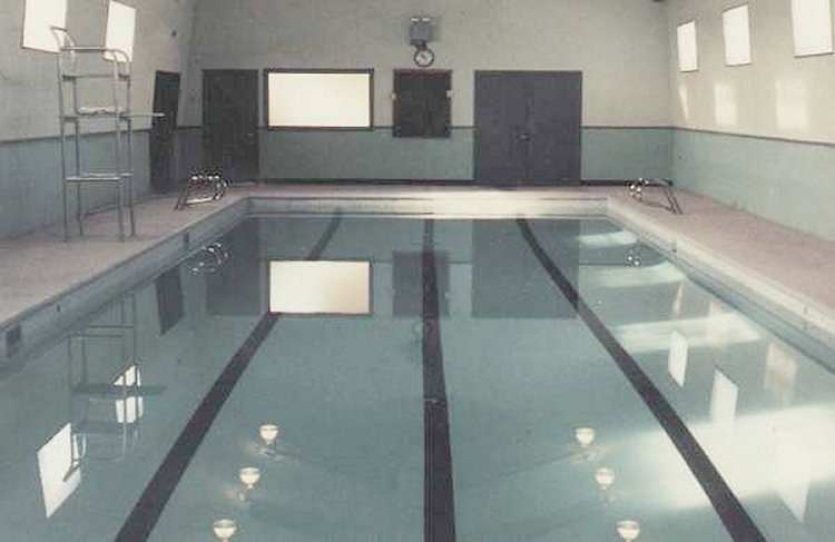 Interior photo of the swimming pool (Gopher Dip) - 1985