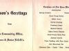 Christmas Dinner menu (inner page) - 25 December 1969