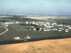 Aerial photo of radar base - August 1964