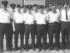 FPS-26A course photo. (L-R) Ray Hossey (far left); Al Brontmyer (6th from left); Steve May (8th from left) - June 1972