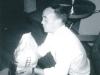 """Newf"" Hunt (Radar Tech) getting ready for a BBQ - June 1965"
