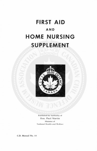 Civil Defence First Aid and Home Nursing 1952 2