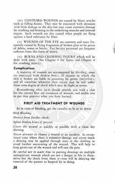 Civil Defence First Aid and Home Nursing 1952 25