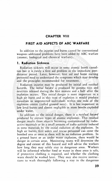 Civil Defence First Aid and Home Nursing 1952 38
