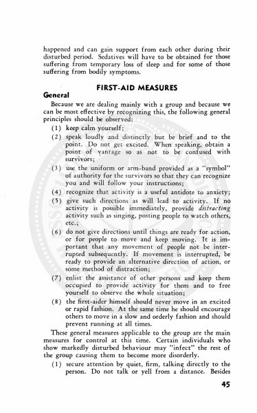 Civil Defence First Aid and Home Nursing 1952 44