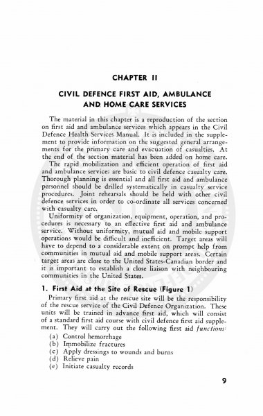 Civil Defence First Aid and Home Nursing 1952 8